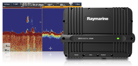 Depth Transducers for CP370 Digital Sonar Module | Raymarine by FLIR