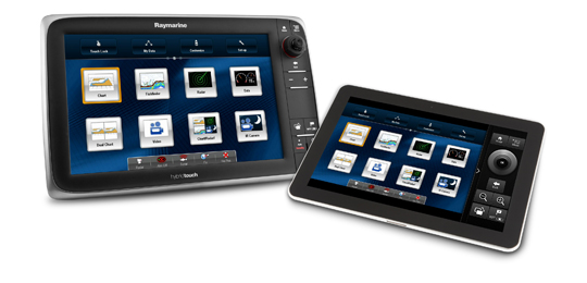 Mobile App Media Resources | Raymarine