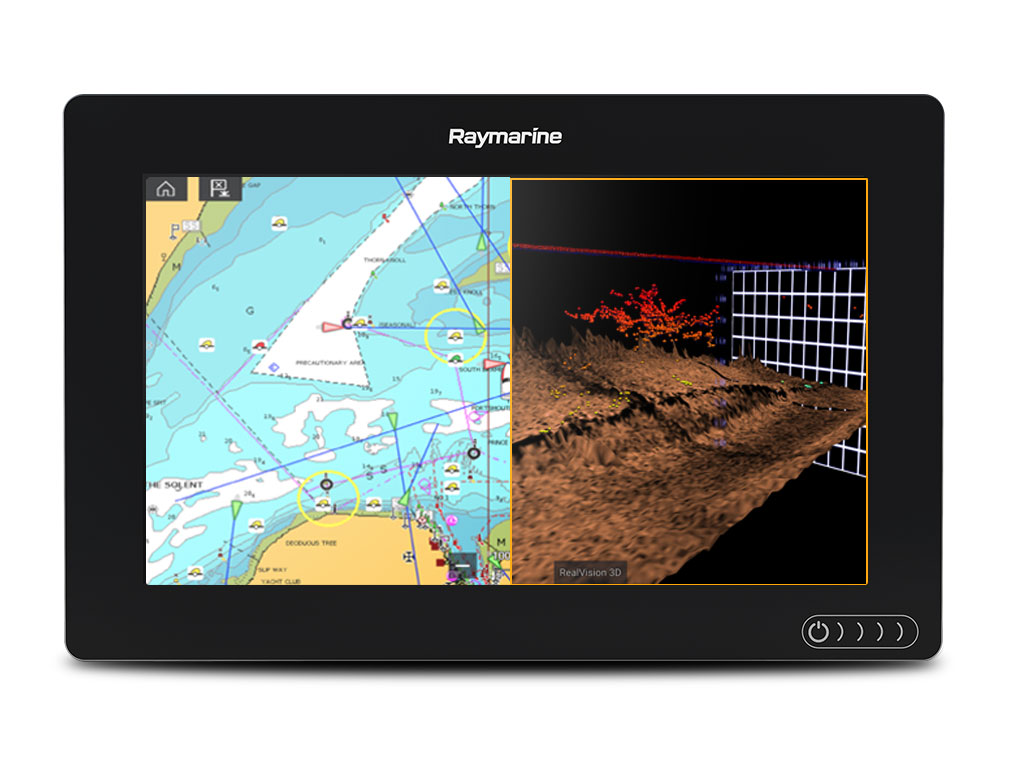 Axiom 9 - RealVision-kaikuluotain | Raymarine by FLIR