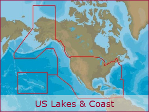C-MAP Cartography - US Bundle | Raymarine
