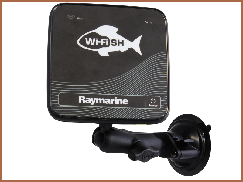 RAM Suction Cup Mount - Dragonfly 4, 5, 7 and Wi-Fish | Raymarine - A Brand by FLIR