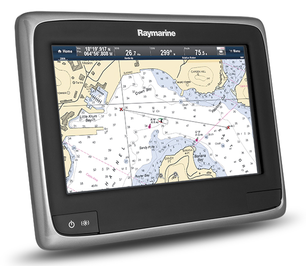 a9 with LightHouse Chart | Raymarine by FLIR by FLIR