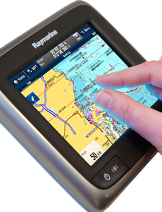 aSeries Multitouch Control | Raymarine by FLIR