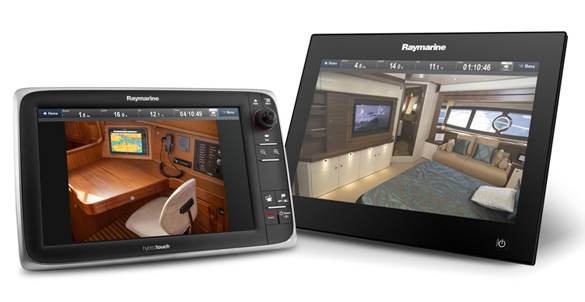Interior Camera on MFD | Raymarine